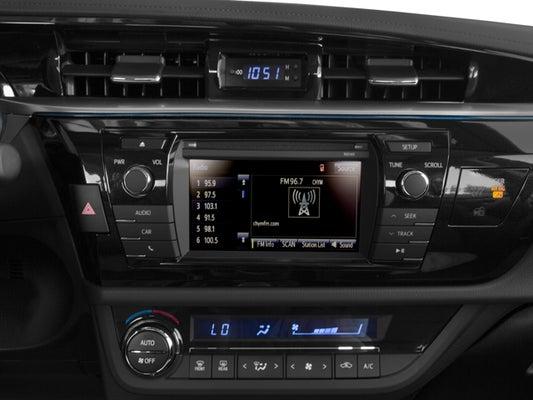 2016 toyota corolla sound system upgrade