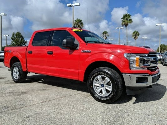 Contact Us Palm Bay Ford Service >> 2019 Ford F 150 Xlt