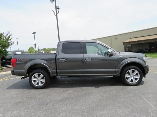 2018 Ford F 150 Platinum In Melbourne Fl Toyota Of