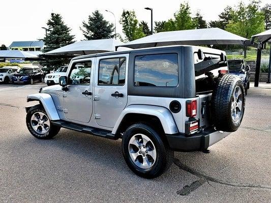 2017 Jeep Wrangler Mpg >> 2017 Jeep Wrangler Unlimited Sahara