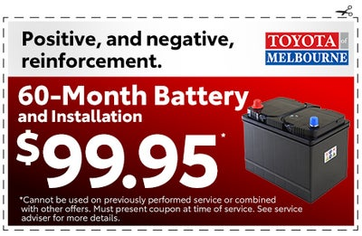 Service And Parts Specials Toyota Of Melbourne