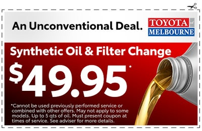 Toyota Synthetic Oil Change Coupon >> Coupons